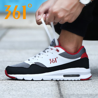 361男鞋夏季气垫运动鞋子361度男士透气网面旅游休闲鞋网鞋跑步鞋