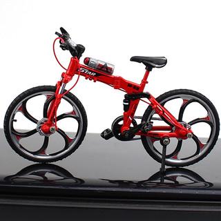 熊山谷 山地合金自行车模型玩具