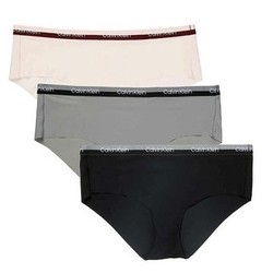 Calvin Klein 卡尔文·克莱 女士中腰弹力内裤 3条装