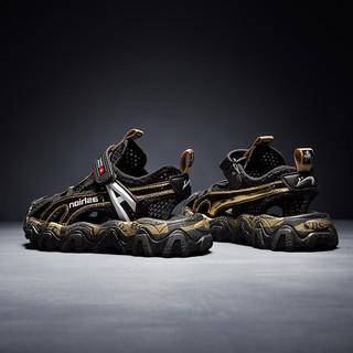 贵人鸟 男童凉鞋2021夏季新款韩版潮儿童鞋子男孩小学生包头沙滩鞋