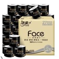88VIP:C&S 洁柔 Face系列 有芯卷纸 4层130g27卷