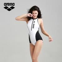 arena 阿瑞娜 arena阿瑞娜新款连体泳衣女遮肚显瘦速干三角运动保守游泳衣泳装