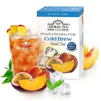 PLUS会员:AHMAD 亚曼 冷泡水蜜桃百香果味红茶 2.1g*20包