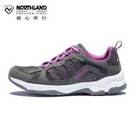 NORTHLAND 诺诗兰 诺诗兰官方徒步鞋春夏户外女士防滑耐磨鞋轻便低帮休闲鞋FH082025