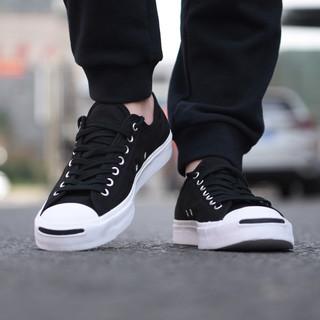 CONVERSE 匡威 匡威男鞋女鞋Jack Purcell低帮开口笑板鞋情侣休闲帆布鞋164056C