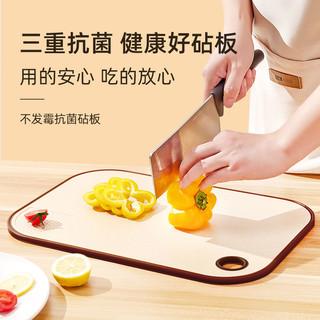 佳易洁 家用不发霉抗菌双面砧板菜板