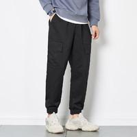 Tonlion 唐狮  62621FC0093401A901 男士工装裤