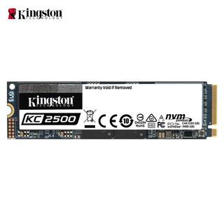 Kingston 金士顿 500GB SSD固态硬盘 M.2接口(NVMe协议) KC2500系列