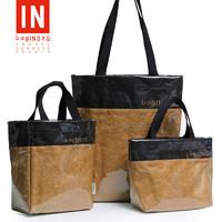 bag IN BAG 袋子手提购物外出环保时尚韩版学生装书收纳轻便携超市防水便利袋 大号