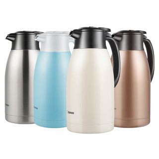 ZOJIRUSHI 象印 象印保温水壶家用大容量304不锈钢热水瓶暖壶保温瓶HT19C 1.9L