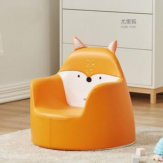 mloong 曼龙 曼龙 咘咘同款儿童沙发婴儿卡通女孩男孩宝宝懒人座椅小沙发公主凳 尤里狐