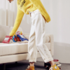 Tonlion 唐狮 62622FC0083006101 女士牛仔裤