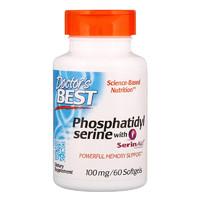 Doctor's BEST 磷脂酰丝氨酸软胶囊 60粒