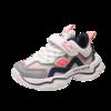贵人鸟 C1216-2 男童休闲运动鞋 白灰 34(脚长20.8cm)