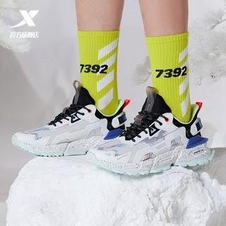 XTEP 特步 山海系列一念运动鞋男夏季2021新款休闲鞋透气老爹鞋男女鞋子