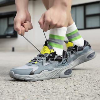 361° 龙眸 672122219F 男款运动跑步鞋