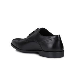 GEOX健乐士春夏正装鞋男商务正装休闲男鞋U026SA 黑色 42