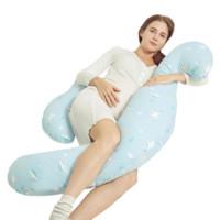 PLUS会员:Joyourbaby 佳韵宝 孕妇H型护腰海马枕 缤蓝雪原