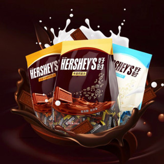 HERSHEY'S 好时 牛奶巧克力 500g