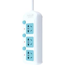 many 家用多功能分控开关插线板 一转二转换器+三位分控2米