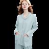 EMXEE 嫚熙 COSY舒畅系列 猫咪款月子装套装+180g哺乳口 夏薄款 蓝色 M