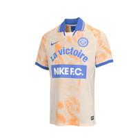 NIKE 耐克 耐克 NIKE FC 复古 男子 翻领休闲上衣 短袖运动T恤 AQ0661-838