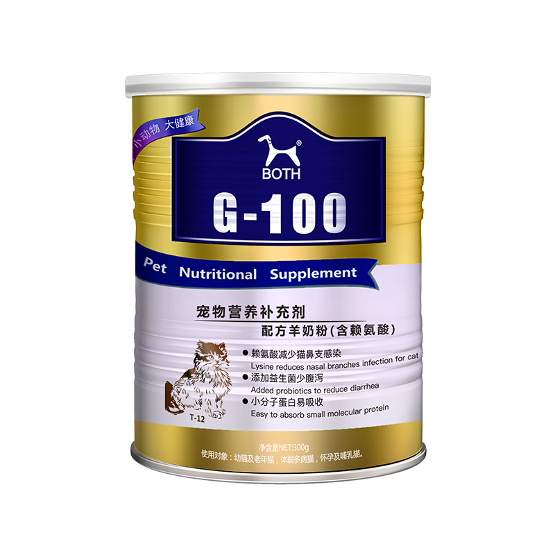 BOTH G-100 宠物羊奶粉 幼猫专用 300g