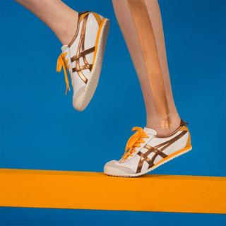 Onitsuka Tiger 鬼塚虎 Onitsuka Tiger鬼塚虎男女鞋运动休闲鞋经典MEXICO 66 METALLIC PACK 白色-100 37