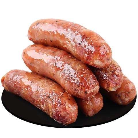 易睿兹 火山石烤肠纯肉肠原味 20支 超值装
