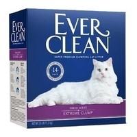 Ever Clean 铂钻高端猫砂 猫砂 紫标 6.35kg