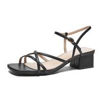 hotwind 热风 夏季新款女士休闲凉鞋