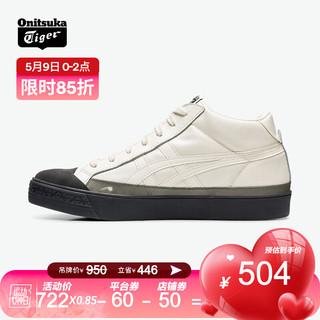 Onitsuka Tiger 鬼塚虎 Onitsuka Tiger/鬼塚虎 运动休闲鞋 中性 FABRE CLASSIC MT 乳白色 41.5