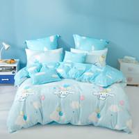 MERCURY Kids 水星儿童 婴幼儿A类全棉抗菌床上用品被套床单三/四件套