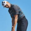 安德玛官方UA Playoff男子高尔夫运动Polo衫1327037(M、深灰色020)