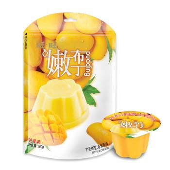 Want Want 旺旺 旺旺 嫩布丁 果冻零食 香甜芒果味 400g