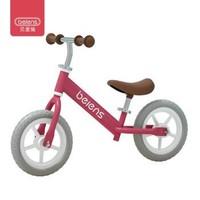 beiens 贝恩施 儿童双轮滑行自行车