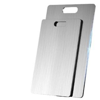 炊先生 304不锈钢切菜板加厚案板抗菌防霉家用厨房辅食切菜塑料双面砧板