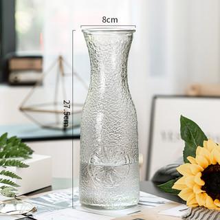 Act n° 1 欧式创意简约玻璃花瓶透明水养植物鲜花玫瑰百合花瓶干花插花摆件