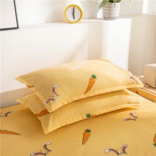 兰娜菲 水洗棉枕套 两支装 48*74cm