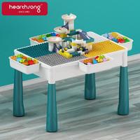 Hearthsong 哈尚 儿童大颗粒积木拼装桌面积木玩具 单桌 61cm