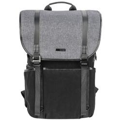 BENRO 百诺  Benro  新行者 LN 摄影包专业单反微单数码相机包时尚休闲双肩上下分层旅游电脑背包防雨罩黑色