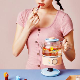 苏泊尔煮茶器养生壶家用电热杯养身杯迷你多功能办公室小型花茶壶