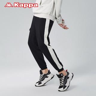 Kappa卡帕运动裤男工装裤多口袋针织长裤休闲裤小脚卫裤