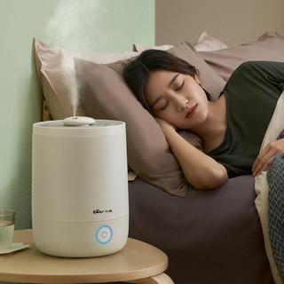 小熊加湿器家用静音卧室内大雾量孕妇婴儿客厅小型空气官方旗舰店