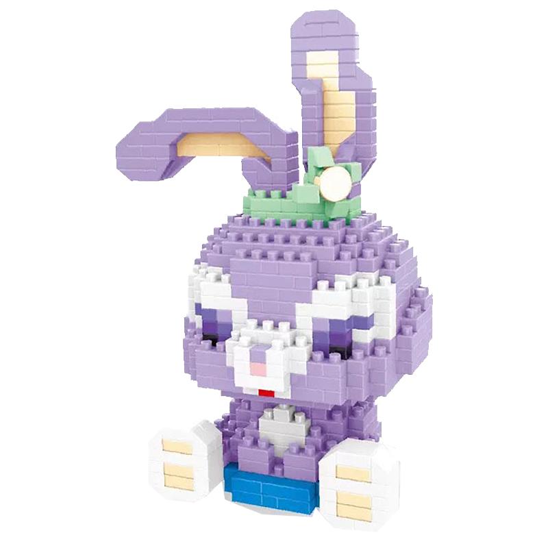 XINGBAO 星堡积木 创意萌物微颗粒积木拼装玩具 微颗粒W2104戴米兔兔