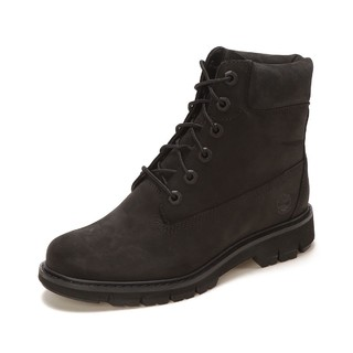 Timberland 添柏岚 平衡耐磨 女款时尚百搭皮革面休闲工装靴