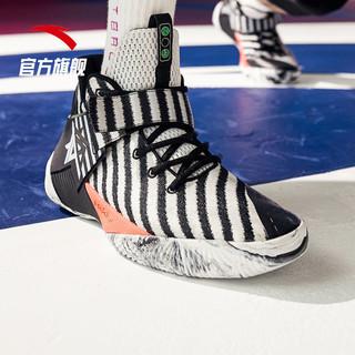百亿补贴:安踏汤普森篮球鞋男官网旗舰2021新款要疯3战靴横扫kt运动鞋鞋子(需用券)