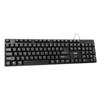 acer 宏碁 K-212B 104键 有线薄膜键盘 黑色 无光