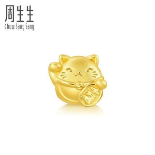 周生生 文化祝福系列 92307C 招财猫转运珠