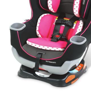 EXTEND2FIT 安全座椅 0-7岁 灰白色